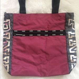 Victoria's Secret Pink 2-Piece Bag Set